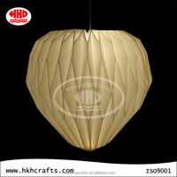 Diamond shape folding lamp shade wholesale