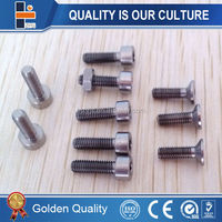 Medical titanium dental implant screw
