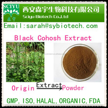 8% Triterpene Glycosides of black cohosh