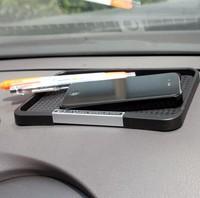 100% PVC gel Anti Slip Mat Non Slip Car Dashboard Sticky Pad Anti Sliding pad, Skid Proof Mat