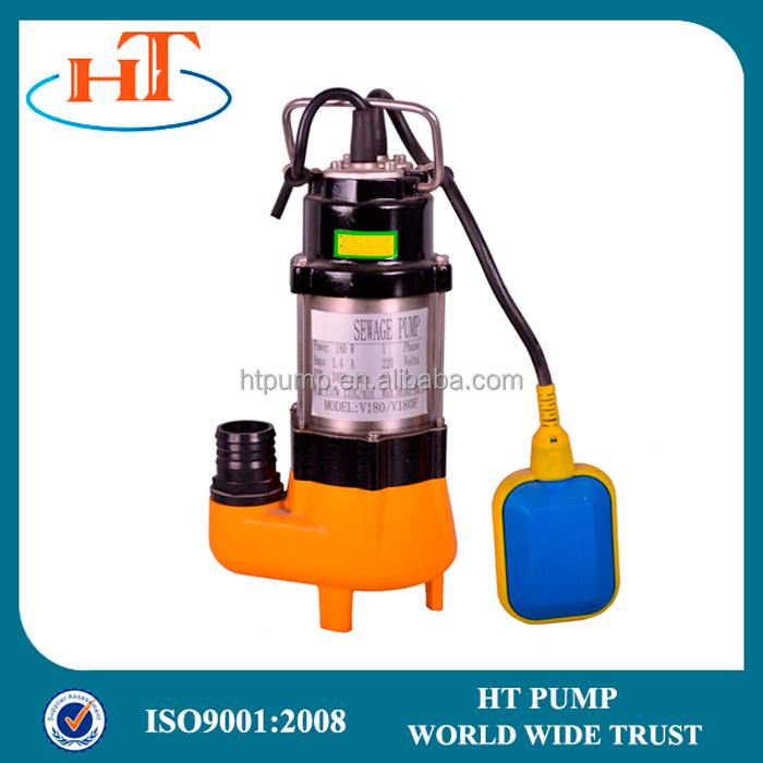 Electric sewage centrifugal submersible pump price