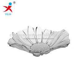 Exquisite Glass Plate / Clear Colored Glass Fruit/Candy Plate