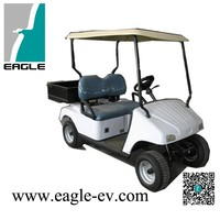 Electric golf Cart EG2026HUtility Vehicle, 2 Seater with Steel Cargo Bed,