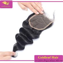 Material Swiss closure lace, color transparent, medium brown, dark brown light brown lace closure for virgin hair weaves