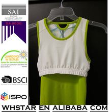 New Collection Custom 95% cotton 5% spandex loose fit racer back ladies tank top
