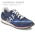 Blue sport sapatos de corrida dos homens, faça o seu próprio tênis de marca para adultos made in china