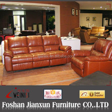 A817 House design furniture leather recliners sofa sets