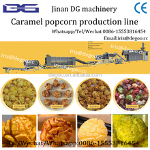 Hot air puffer for popcorn/snacks food from Jinan DG