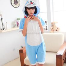 Summer fleece /cotton animal jumpsuit costume onesie pajamas women cosplay QWAO-1623