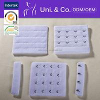 lastest design high elasticity nylon fabric bra hook & eye tape