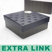 Newest design custom Elegant high quality packaging box for free prom dress