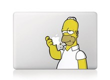 Laptop Sticker Simpson Vinyl Decal laptop Sticker for Apple Macbook Pro Air 13 11 15 Inch Simpsons laptop skin