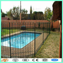 swmming pool used Removable Safety pool metal fence