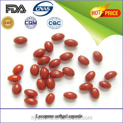Natural Carotenoid Lycopene softgel for antioxidant protect men health