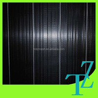 black weed control mat for agricultural garden planting