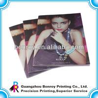 Cheap printing noble advertising perfume catalog