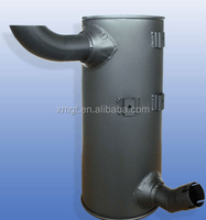 2015 top product excavator exhaust muffler 6D95 muffler for PC200-6
