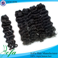 From india indian remy micro loop ring hair extension