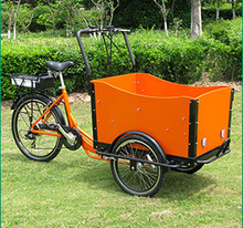 Front box design the cheapest danish electric cargo bicycle/ electric tricycle