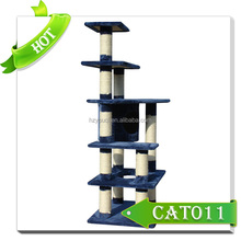 Cheap cat tree cat house/wooden cat furniture for sale
