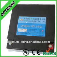 Excellent Performance 12V 24AH LiFePo4 battery