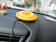 BMN909-1 Golden Silver portable vehicle air cleaner , Carbon Fiber Ionizer car air purifier
