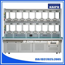 Three phase energy meter calibrate test bench