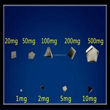 Standard 200mg Sliced Digital Pocket Balance Scale Calibration Weights For Digital Scale Table Balance Laboratory Balance