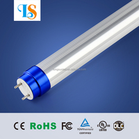2015 patent t8 led tube8 1.5m 24w ac85-265v Ra>80 PF>95% with 3500k 5000k and 6500k color temperatures, no need for extra wiring