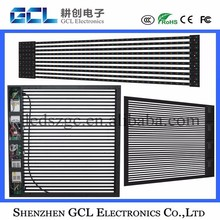 P31.25 outdoor led mesh screen flexible led curtain display
