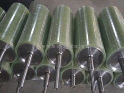 China outstanding quality rubber conveyor coated roller