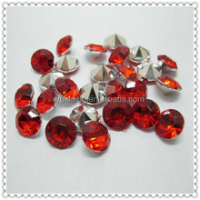 Red Crystals Acrylic Diamond Decoration For Wedding Party Favors