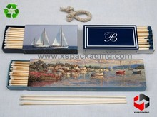 wholesales large fancy custom printed match box