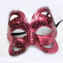 carnival fancy dress Costume Party feather mask