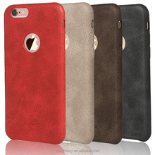 2015 newest for iphone 6s 4.7inch leather colored back cover case china mobile phone case ultra thin