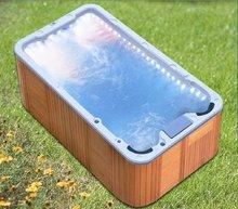Jazzi Sexy outdoor swim spa clear acrylic bathtub SKT339C