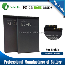 li ion battery for Nokia 5800T/5800xm/N900/X6/5233/5228 /C3 compatible mobile phones battery for nokia bl-5j alibaba supplier