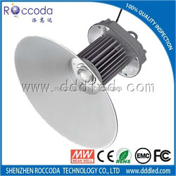 2015 China factory High Bay Hot sales Bridgelux LED chips/ Meanwell driver 5years warranty 50W LED High Bay Light