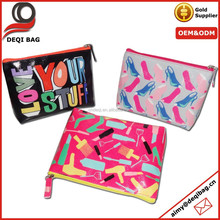 Ultra Stylish digital full printing fashion wash bags nice cosmetic bag