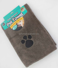 Dog blanket with paws printed for pets living