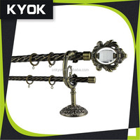KYOK factory direct price metal clip curtain rings, large supply ability in Foshan