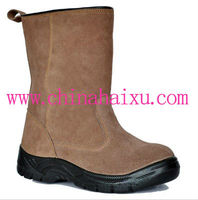 Genuine Leather Safety Working Boots
