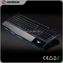 Big palam rest ergonomic metal water-proo gaming computer keyboard---JK760