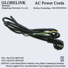 Korea KC AC power cable 3PIN Female End Type stripped Male End Type