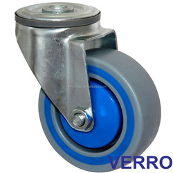 Industrial sandwich caster wheels with bolt hole fitting for Material Handling Equipment Parts