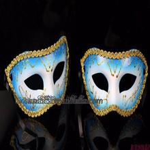 WHM-0107 Yiwu CaddyNice handmade Masquerade party face mask for birthday party wholesale