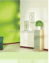 green paint for exterior and interior wall