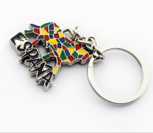 Cute Spanish bullfighting pendant keychains promotional gift key chain for tourists