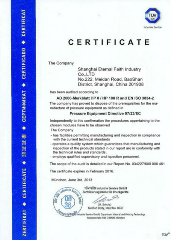 SEFIC PED Certification-1