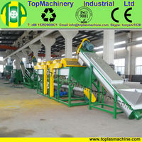high capacity hot sale agriculture film recycling machine for HDPE LDPE LLDPE film, sheet PP recycling machine line